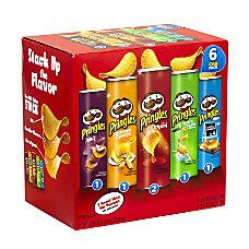 Pringles Potato Crisps 5 Flavor Variety