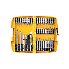 DeWalt 37 Piece Screwdriver Bit Set