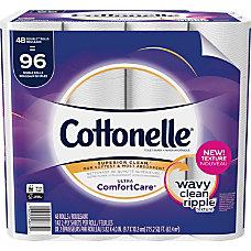 Cottonelle ComfortCare Bath Tissue 142 SheetsRoll