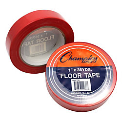 Champion Sports Heavy Gauge Vinyl Floor Marking Tape 1 X