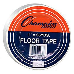 Champion Sports Heavy Gauge Vinyl Floor Marking Tape 1 X
