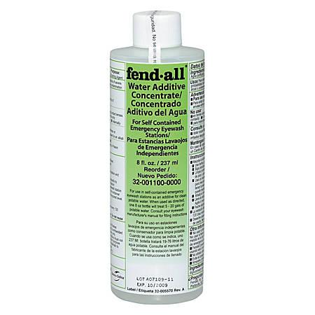 Water Additive, 8 oz, Use w/ Porta Stream I, II and III Emrgncy Eyewash Stations