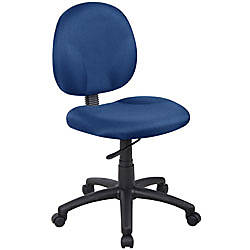 Boss Wide Seat Fabric Task Chair
