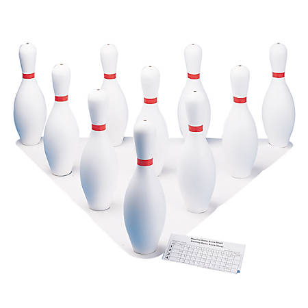 Champion Sports Plastic Bowling Set