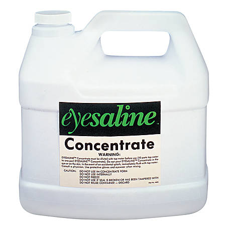 Saline Concentrate, 70 oz, Use with Fendall Porta Stream I