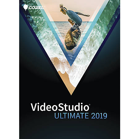 Corel® VideoStudio Ultimate 2019, Traditional Disc