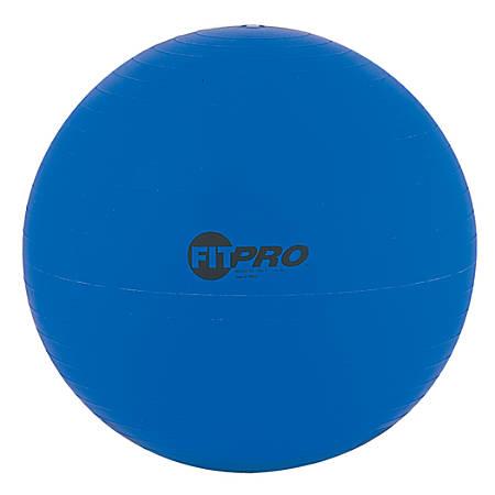 "Champion Sports FitPro Training/Exercise Ball, 20 7/8"", Blue"