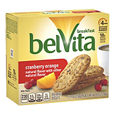 belVita Breakfast Biscuits Cranberry Orange 176