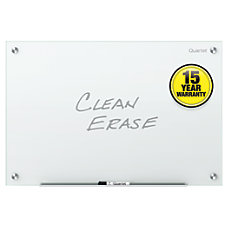 QuartetInfinity Frameless Glass Dry Erase Board