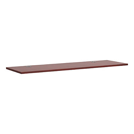 "HON® Casegoods Series Table Top, Rectangle, 72""W x 30""D, Mahogany"