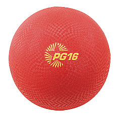 Champion Sports Playground Ball 16 Red