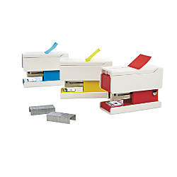 Swingline Mini Flag Stapler Assorted Colors