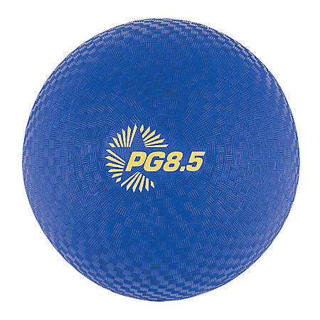 "Champion Sports Playground Ball, 8 1/2"", Blue"