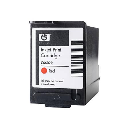 HP C6602R, Red Ink Cartridge