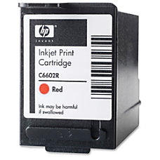 HP C6602R Red Ink Cartridge