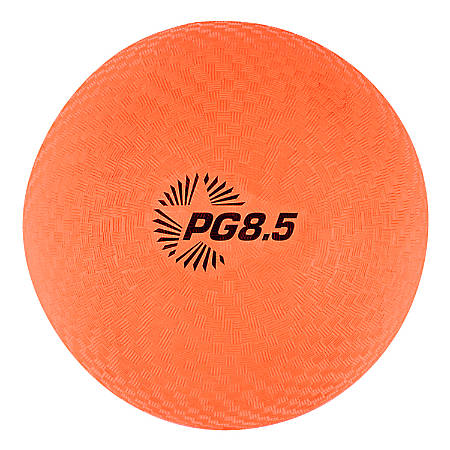 "Champion Sports Playground Ball, 8 1/2"", Orange"