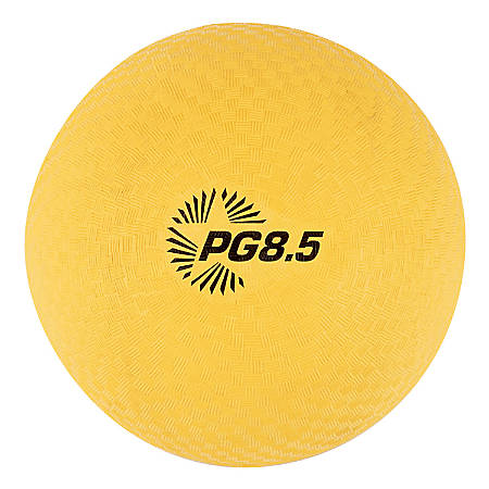 "Champion Sports Playground Ball, 8 1/2"",Yellow"
