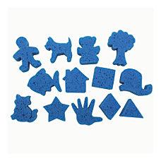 Roylco Dip Print Painting Sponges Blue