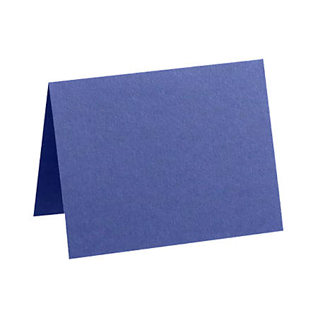 "LUX Folded Cards, A2, 4 1/4"" x 5 1/2"", Boardwalk Blue, Pack Of 250"