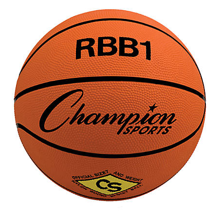 Champion Sports Basketball, Size No.7, Orange