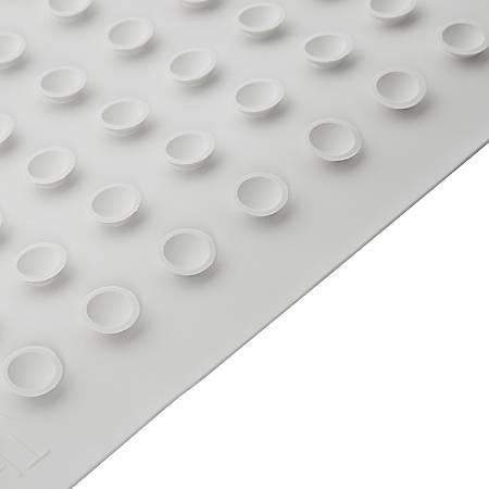 """Rubbermaid® Bath Mats, 14"""" x 22 1/2"""", White, Pack Of 12 Mats"""