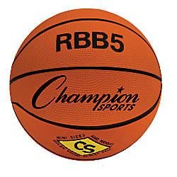 Champion Sports Basketball Orange