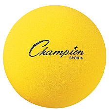 Champion Sports Extra Soft Foam Ball