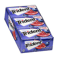 Trident Sugar Free Wild Blueberry Twist