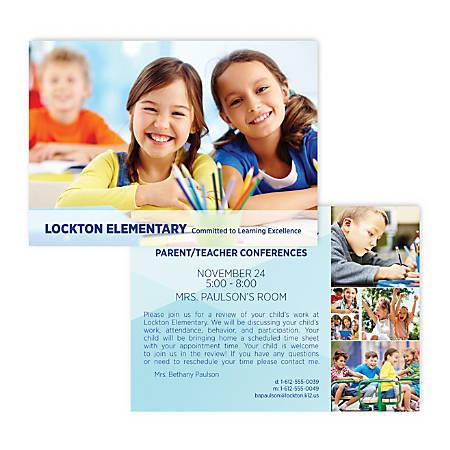 "Custom Full-Color Standard Postcards, Printed 2 Sides, 5-5/8"" X 4"", Box Of 50"