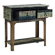 Powell Bota 2 Drawer Console Table