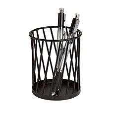 Realspace Wire Pencil Cup 4 H