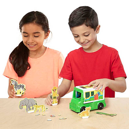 Melissa & Doug Children's Educational Toys, Magnetivity Safari Rescue Set