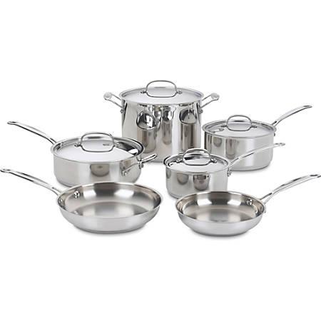 Cuisinart Chef's Classic 10 Piece Cookware Set