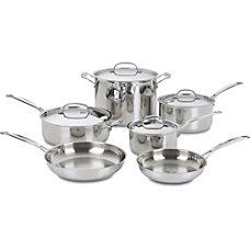 Cuisinart Chefs Classic 10 Piece Cookware