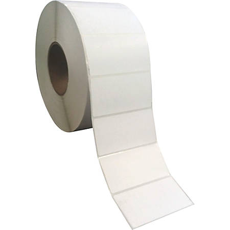 """Sparco Direct Thermal Labels, SPR74988, 4""""W x 2""""L, Rectangle, Direct Thermal, White, Pack Of 12,000"""