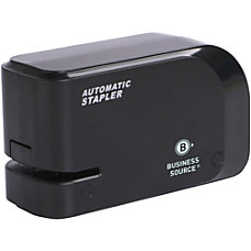 Business Source Electric Stapler 20 Sheets