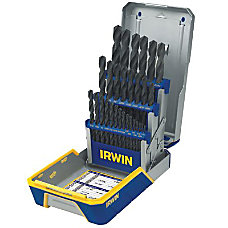 IRWIN Black Oxide Industrial Drill Bit
