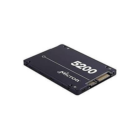 """Micron 5200 960 GB Solid State Drive - SATA (SATA/600) - 2.5"""" Drive - Internal - TAA Compliant - 540 MB/s Maximum Read Transfer Rate - 520 MB/s Maximum Write Transfer Rate"""