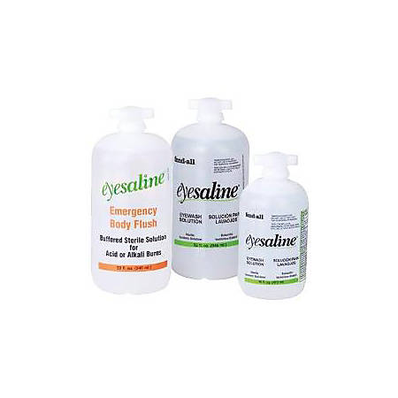 Eyesaline Wall Station Refill Bottles, 32 oz, 461 Wall Station