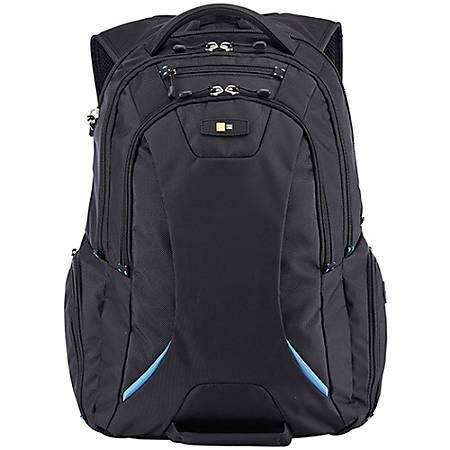 """Case Logic BEBP-115 Carrying Case (Backpack) for 15.6"""" Notebook - Black - Polyester - Backpack, Shoulder Strap - 19.3"""" Height x 12.2"""" Width x 13.4"""" Depth"""