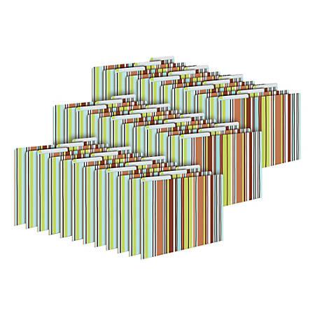 Barker Creek Tab File Folders, Letter Size, Ribbon, Pack Of 36 Folders