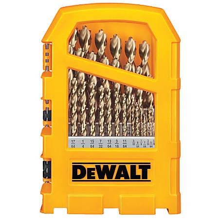 DeWalt Pilot Point Gold Ferrous Oxide Drill Bit Set, 29-Bits