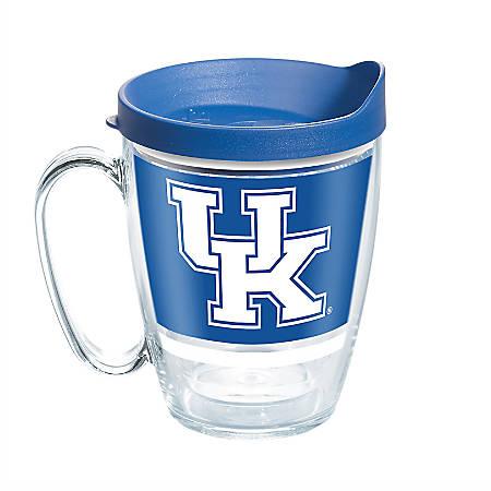 Tervis NCAA Legend Coffee Mug With Lid, 16 Oz, Kentucky Wildcats