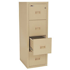FireKing Turtle 4 Drawer Insulated Fireproof