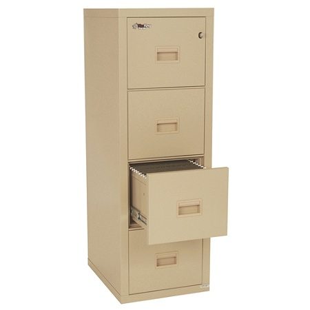 Fireking Turtle 4 Drawer Insulated Fireproof Filing Cabinet Dock To Delivery By Office Depot Officemax