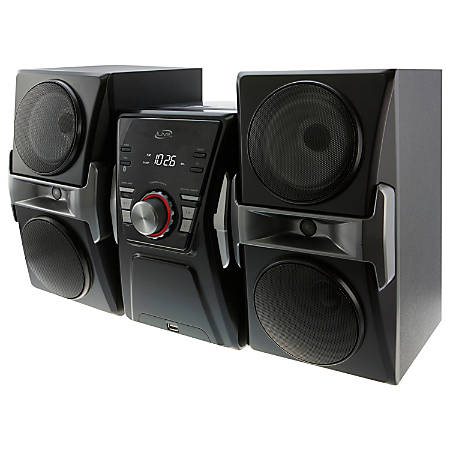 iLive IHB624B Micro Hi-Fi Bluetooth® CD Stereo System With AM/FM Radio, Black
