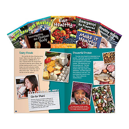 Teacher Created Materials Healthy You Book Set, Grades 3 - 5, Set Of 7 Books