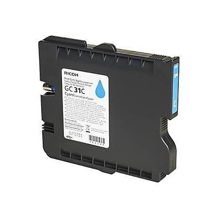 Ricoh GC - Cyan - original - ink cartridge - for Ricoh GX e3300N, GX e3350N; IPSiO GX e3300