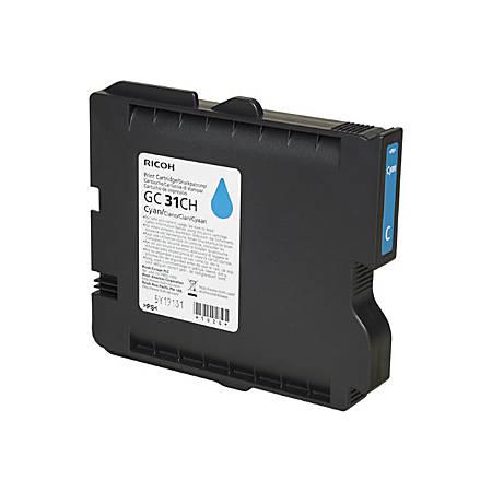 Ricoh - High Yield - cyan - original - ink cartridge - for Ricoh GX e5550N, GX e7700N