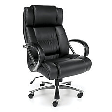 OFM Avenger Big Tall Bonded Leather